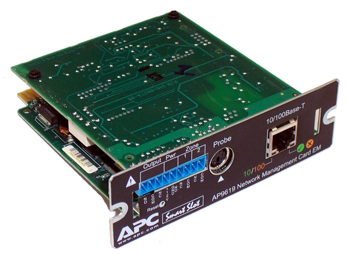 AP9619 (Used) - UPS Network Management Card (AP9619)
