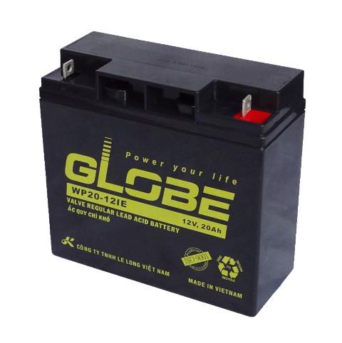 Bình ắc quy kín khí (AGM VRLA) Globe 12V-20Ah, 84W (WP20-12IE)