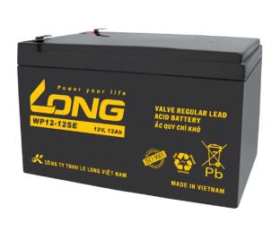 Bình ắc quy kín khí (AGM VRLA) Long 12V-12Ah (WP12-12SE)