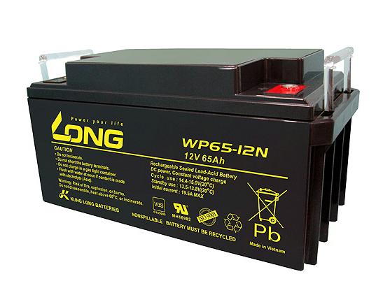 Bình ắc quy kín khí (AGM VRLA) Long 12V-65Ah (WP65-12N)