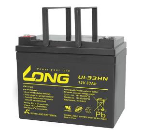 Bình ắc quy kín khí (AGM VRLA) Long 12V-33AH (U1-33HN)