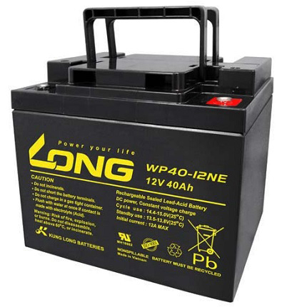 Bình ắc quy kín khí (AGM VRLA) Long 12V-40Ah (WP40-12NE)