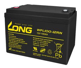 Bình ắc quy kín khí (AGM VRLA) Long 12V-100Ah (WPL100-12RN)