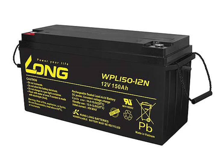 Bình ắc quy kín khí (AGM VRLA) Long 12V-150Ah (WPL150-12N)