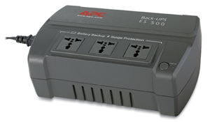 APC Back UPS ES 500VA, 650VA, 300W, 360W, 230V (BE500R-AS; BE500-AS, BE650R-AS, BE650-AS) - Used UPS