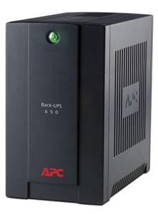 APC Back UPS RS 650VA, 390Watts, 230V, ASEAN (BR650CI-AS)